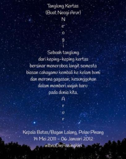 sajak visual-rajah 5-ibnudin assingkiri